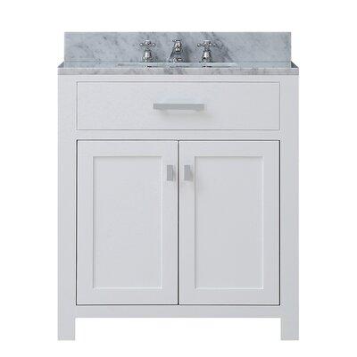 "dcor design creighton 30"" single bathroom vanity set & reviews"