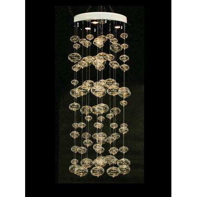 DCOR Design Jellyfish 4 Light Waterfall Chandelier U0026 Reviews   Wayfair