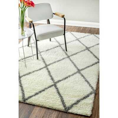 Mercury Row Bronson Off White Area Rug U0026 Reviews | Wayfair