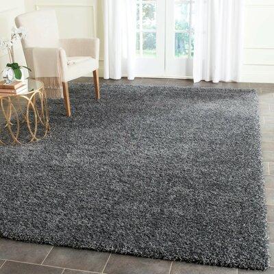 Mercury Row Arce Dark Gray Area Rug U0026 Reviews | Wayfair