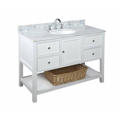 KBC New Yorker 48 Single Bathroom Vanity Set Reviews Wayfair