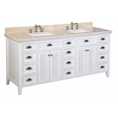 KBC Savannah 72 Double Bathroom Vanity Set Reviews Wayfair