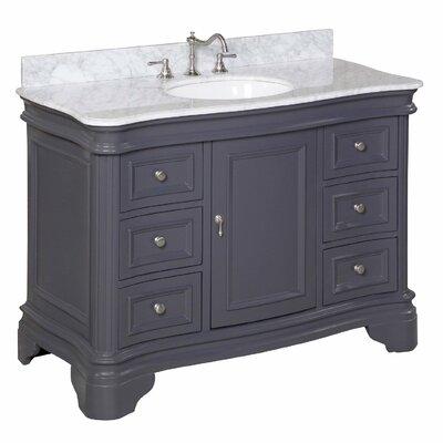 48 inch bathroom vanities you'll love | wayfair