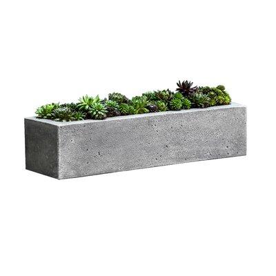 Campania International Inc Garden Terrace Stone Planter Box