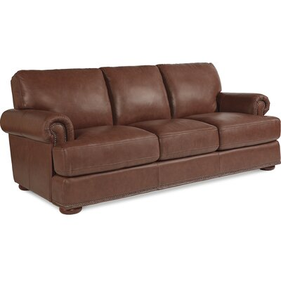 Great La Z Boy Andrew Leather Sofa U0026 Reviews | Wayfair Design