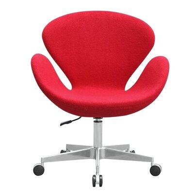 fine mod imports swan mid-back desk chair & reviews | wayfair