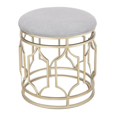 AdecoTrading Metal Nesting Flax Diamond Shape Ottoman U0026 Reviews | Wayfair