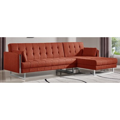 . At Home USA Andrea Sleeper Sectional   Reviews   Wayfair