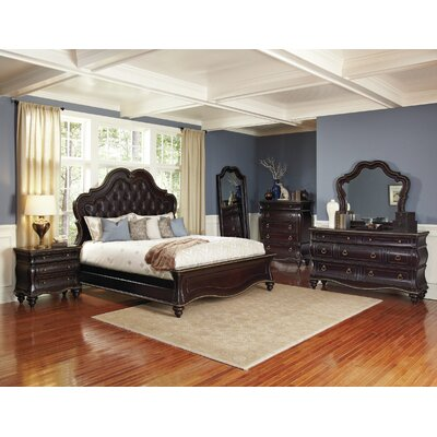 Avalon Furniture Glam Style Panel Bed Reviews Wayfair