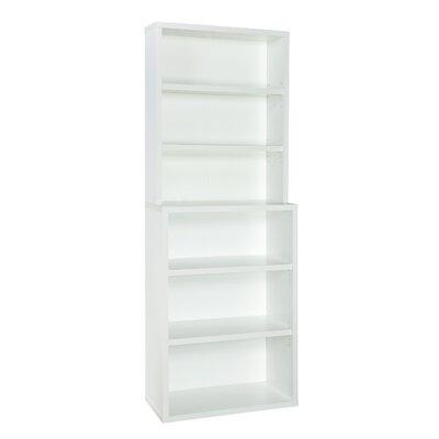 6 shelf bookcase walmart black ikea decorative standard