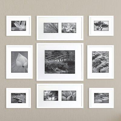 nielsenbainbridge gallery perfect 9 piece picture frame set reviews wayfair - White Gallery Frames