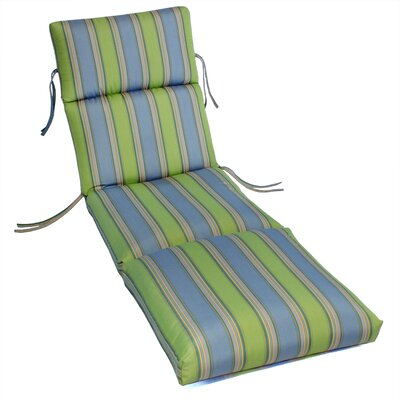 Comfort Classics Outdoor Sunbrella Chaise Lounge Cushion U0026 Reviews | Wayfair