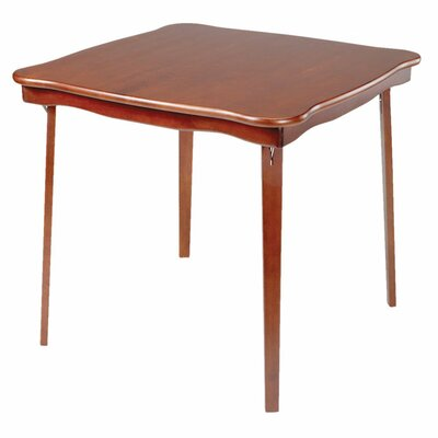 Stakmore 32 square folding table reviews wayfair for Table 52 cards