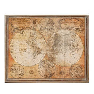 World Map Wall Decor world map wall decor & reviews | joss & main