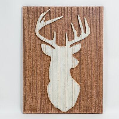 Deer Wall Decor gracegraffiti coastal wildlife whitetail deer wall decor & reviews