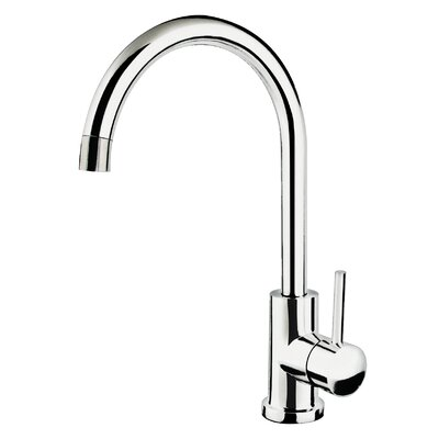 soleil single handle single gooseneck kitchen faucet