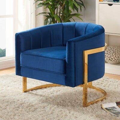 Meridian Furniture Usa Carter Barrel Chair Reviews Wayfair