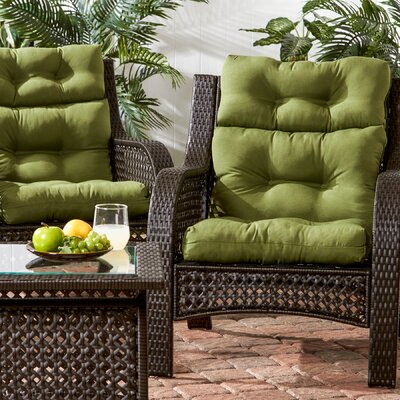 Awesome Darby Home Co Outdoor High Back Chair Cushion U0026 Reviews | Wayfair