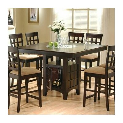 melvin counter height dining table  melvin counter height dining table: 40 inch round pedestal dining table