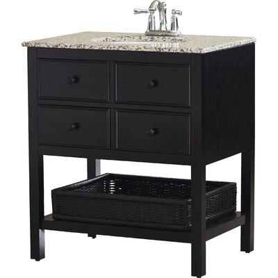 """alcott hill gettysburg 30"""" single bathroom vanity set & reviews"""