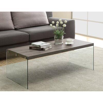 varick gallery tonnele coffee table & reviews   wayfair