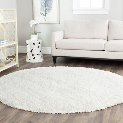 varick gallery boice white area rug & reviews | wayfair