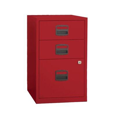 Varick Gallery Castaneda 3 Drawer Steel Home Or Office Filing Cabinet U0026  Reviews | Wayfair