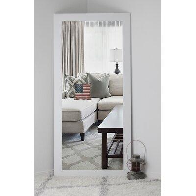 White Wall Mirror brayden studio classic white vanity wall mirror & reviews | wayfair