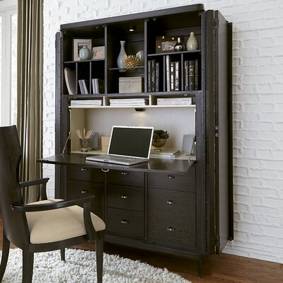 Captivating Brayden Studio Gullett 9 Drawer Armoire Desk U0026 Reviews | Wayfair