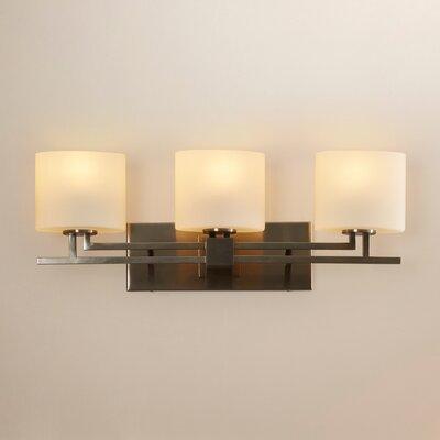 Wade Logan Englishcombe Aero 3 Light Cylinder W/ Flat Rim Bath Vanity Light  U0026 Reviews | Wayfair