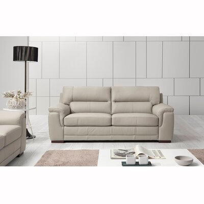 Wade Logan Albany Leather Sofa