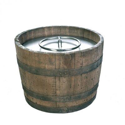 Arcticflame Cement Wine Barrel Fire Pit Amp Reviews Wayfair