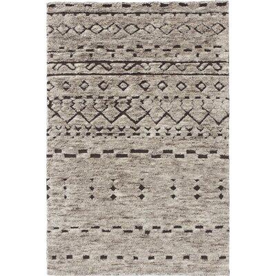 Gan Rugs gan rugs tribal chic hand knotted bereber area rug   wayfair