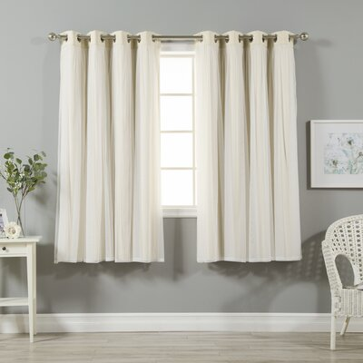 Curtains Ideas blackout panels for curtains : August Grove Braswell Blackout Curtain Panels & Reviews | Wayfair