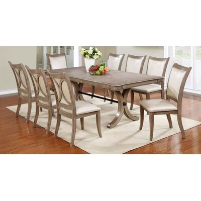 9 piece dining set square table formal room sets cabrillo counter height cappuccino one way