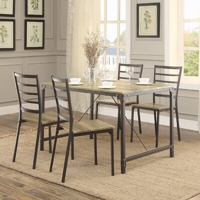 Trent austin design morris 5 piece dining set reviews wayfair - Dining room sets austin tx ...