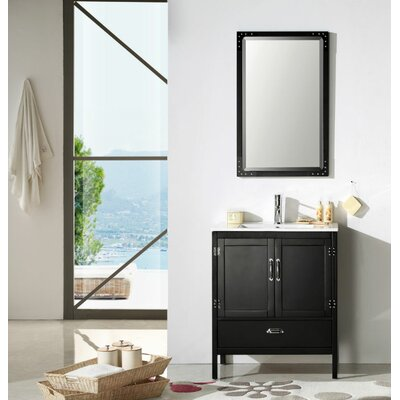 "Bathroom Design Austin trent austin design cindi 30"" single bathroom vanity set & reviews"