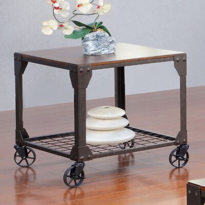 Furniture Design Hobart trent austin design hobart end table & reviews | wayfair