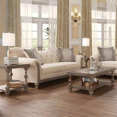 Bungalow Rose Serta Upholstery Vox 3 Piece Coffee Table Set ...