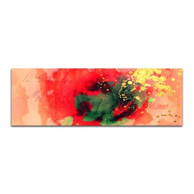 PaulSinusArt Enigma Panorama Abstrakt 124 Framed Graphic Print on Canvas