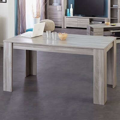 Parisot warren extendable dining table reviews wayfair for Table warren silex