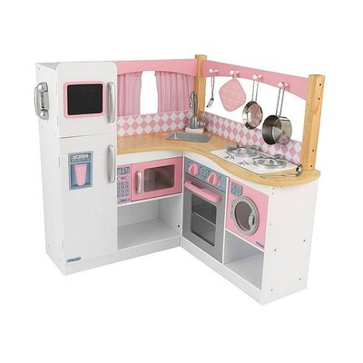 Beautiful KidKraft Grand Gourmet Corner Kitchen Set U0026 Reviews | Wayfair