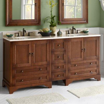 "ronbow milano "" double bathroom vanity set  reviews  wayfair, Bathroom decor"