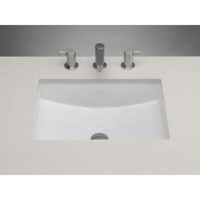 Ronbow Bathroom Sinks ronbow ceramic rectangular undermount bathroom sink with overflow