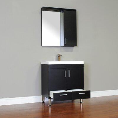 """alya bath ripley 30"""" single modern bathroom vanity set with mirror"""
