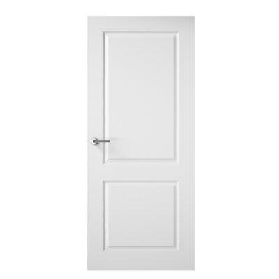 premdor wood 2 panel white fire internal door wayfair uk. Black Bedroom Furniture Sets. Home Design Ideas