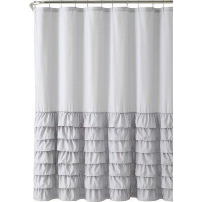 Vcny Melanie Ruffle Shower Curtain Reviews Wayfair
