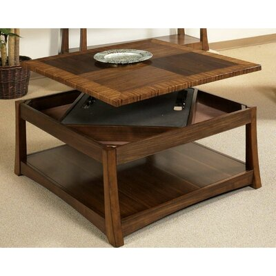 World Menagerie Andover Dual Coffee Table with Dual Lift-Top & Reviews | Wayfair