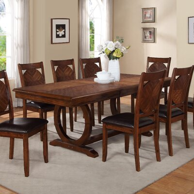 world menagerie kapoor extendable dining table & reviews | wayfair