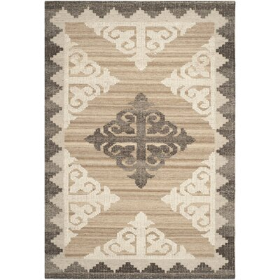 World Menagerie Gretta Brown And Charcoal Rug U0026 Reviews | Wayfair